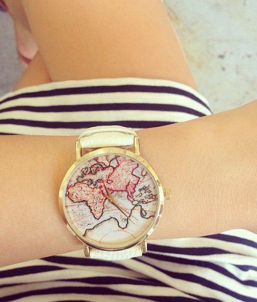 vintage-wanderlust-map-watch-on-wrist