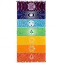 Rainbow Chakra blanket image