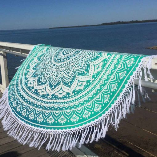 mandala beach blanket Oceana photo
