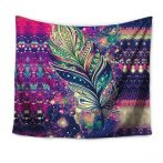 purple-bohemian-tapestry-feather