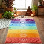 Colorful Rainbow Chakra Tapestry