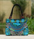 turquoise-mandala-flower-shoulder-handbag