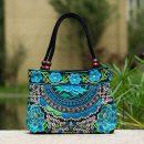 turquoise-mandala-flower-shoulder-handbag