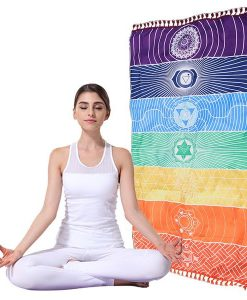 product page about 7 Chakra Energy Exploration Tapestry
