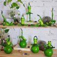 Inspirational Yoga Frog Figures