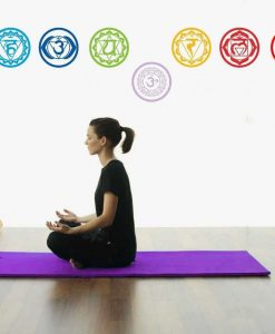 chakras symbol yoga wall decals image