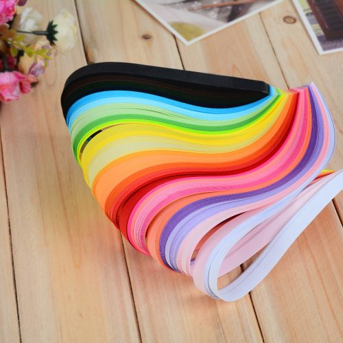 Stripes DIY Colorful Quilling Paper