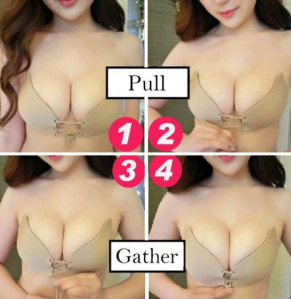 how to use invisible push up bra photo