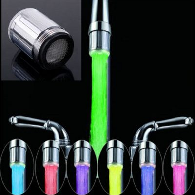Temperature Sensor Faucet Light color changing