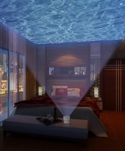 Ocean Waves Night Light Projector