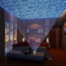 Ocean Waves Night Light Projector