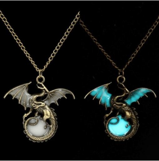 luminous Dragon Necklace