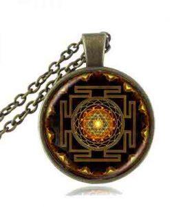 benefits of sacred sri yantra necklace a ways to spiritual harmony
