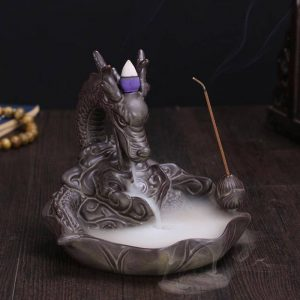 Smoke Breathing Dragon Incense Burner