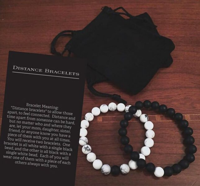 what are distance bracelets and meaning