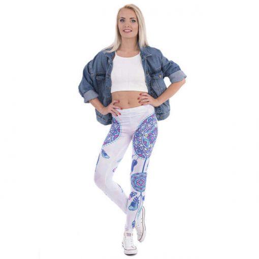 dream catcher mandala leggings