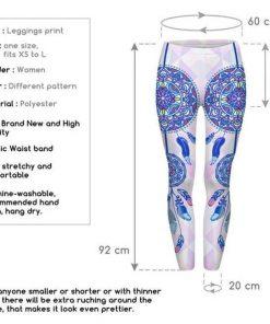 dream catcher mandala leggings size