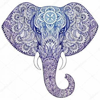 Elephant Mandala Symbolism The Yoga Mandala Shop