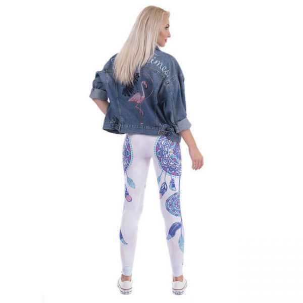 indian dream catcher mandala leggings