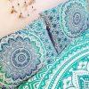 Blue Mandala Pillow Covers | Mandala Pillow Cases