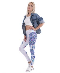 native american mandala leggings image