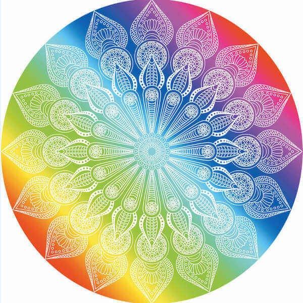 Round Chakra Towel