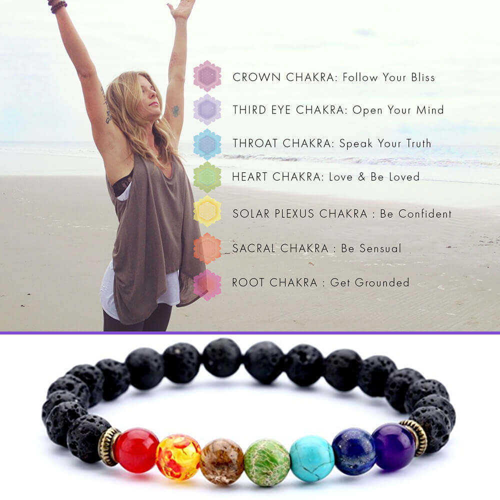 what are chakra bracelets image
