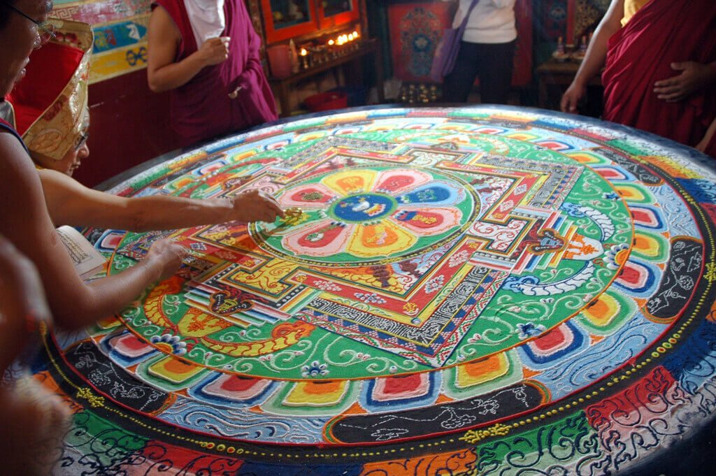 mandala tapestry meaning