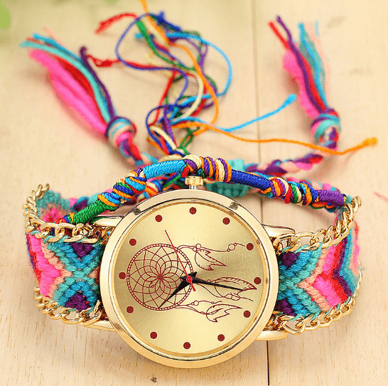 Braided Dreamcatcher Watch