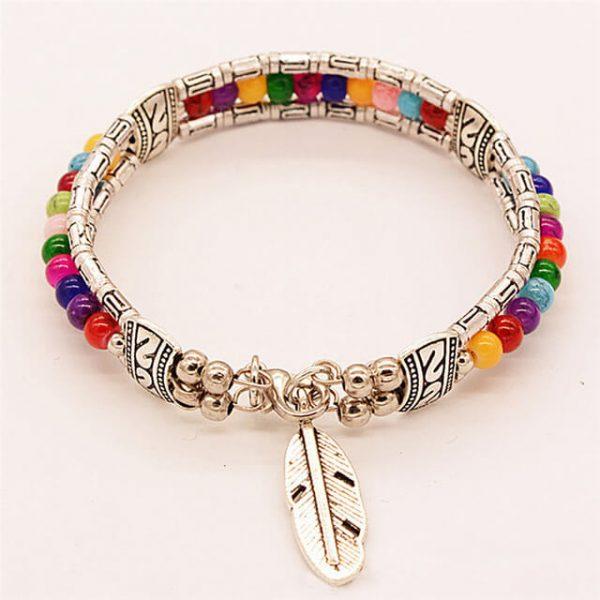 women-rainbow-lucky-feather-bracelets