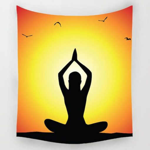 meditation-yoga-tapestry