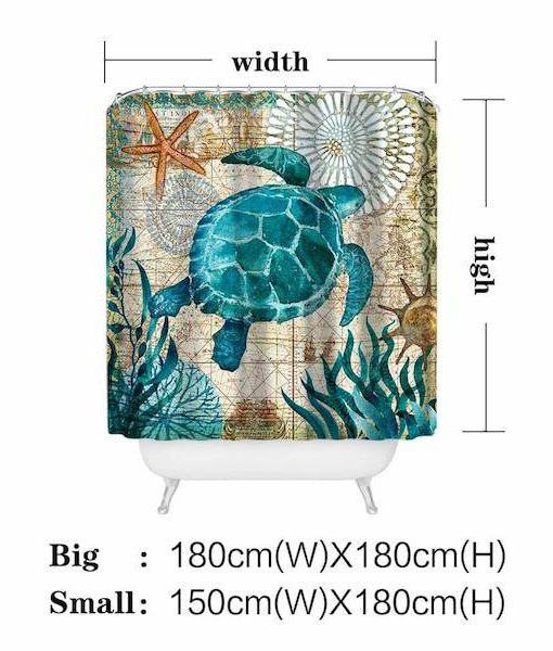 sea-turtle-shower-curtain-sizes