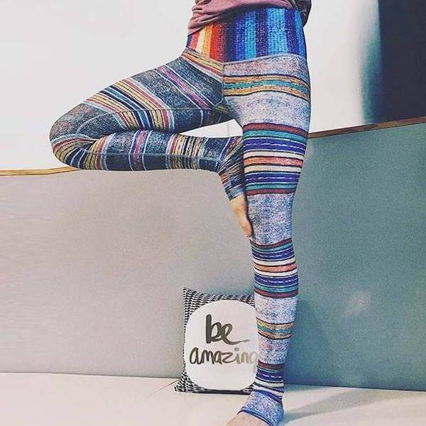 Rainbow Yoga Leggings