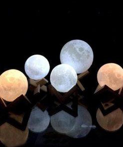 3D Moon Night Light