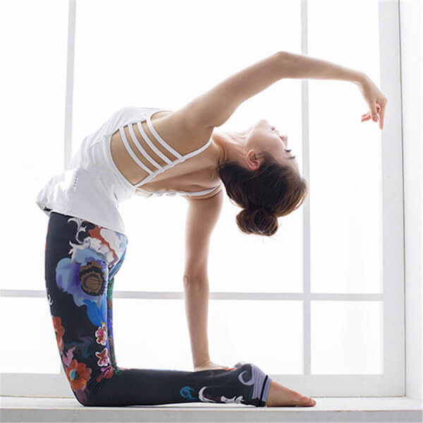 floral-high-waisted-compression-yoga-pants