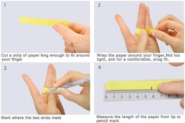 how to measure ring size in mm