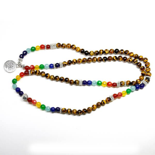 unisex-tree-life-7-chakra-tiger-eye-beaded-bracelet