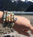 amazonite-mala-lotus-pendant-bracelet