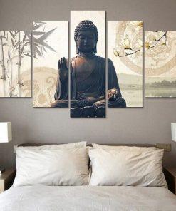 buddha paintings for living room