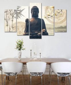 living room buddha canvas painting