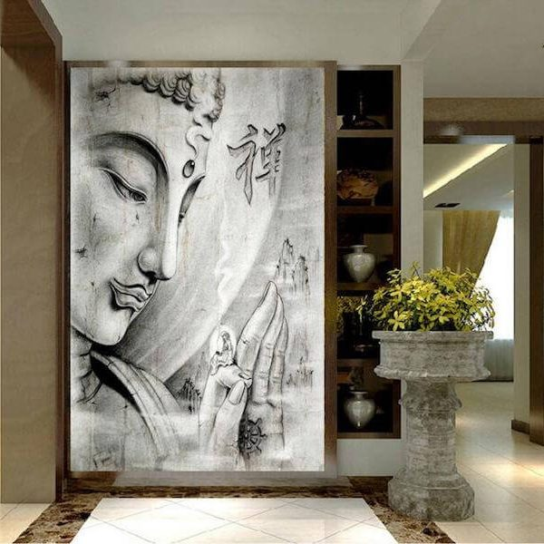 buddha canvas painting sale
