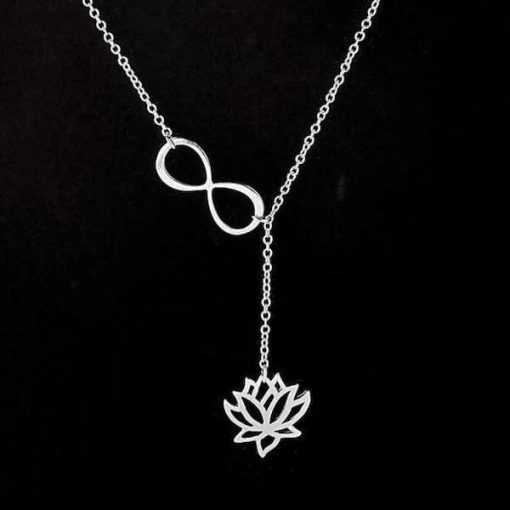lotus-infinity-necklace-silver-bbg