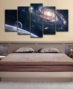 milky-way-5-piece-canvas-painting