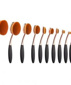 oval brush set review