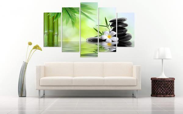 zen-5-piece-canvas-painting