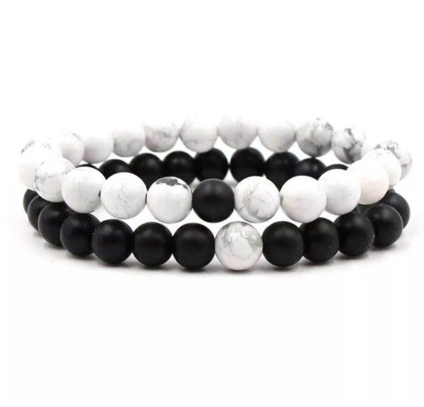 Black Distance Bracelets