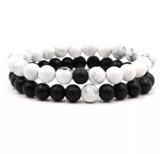 Natural Stone Bracelets Set