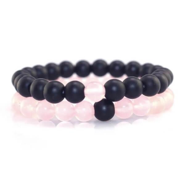 Pink Distance Bracelets