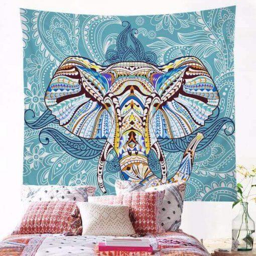 Mandala Elephant Wall Hanging