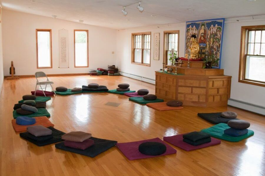 zen yoga meditation space